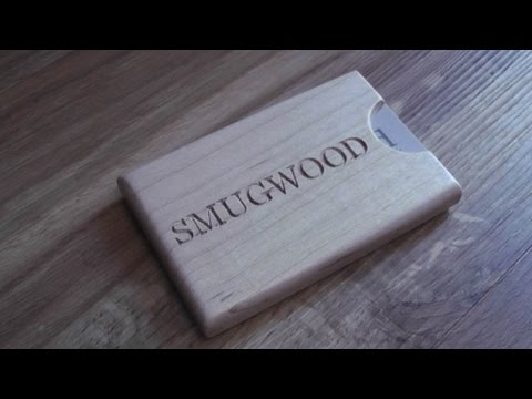 Making a Business Card Holder out of Wood