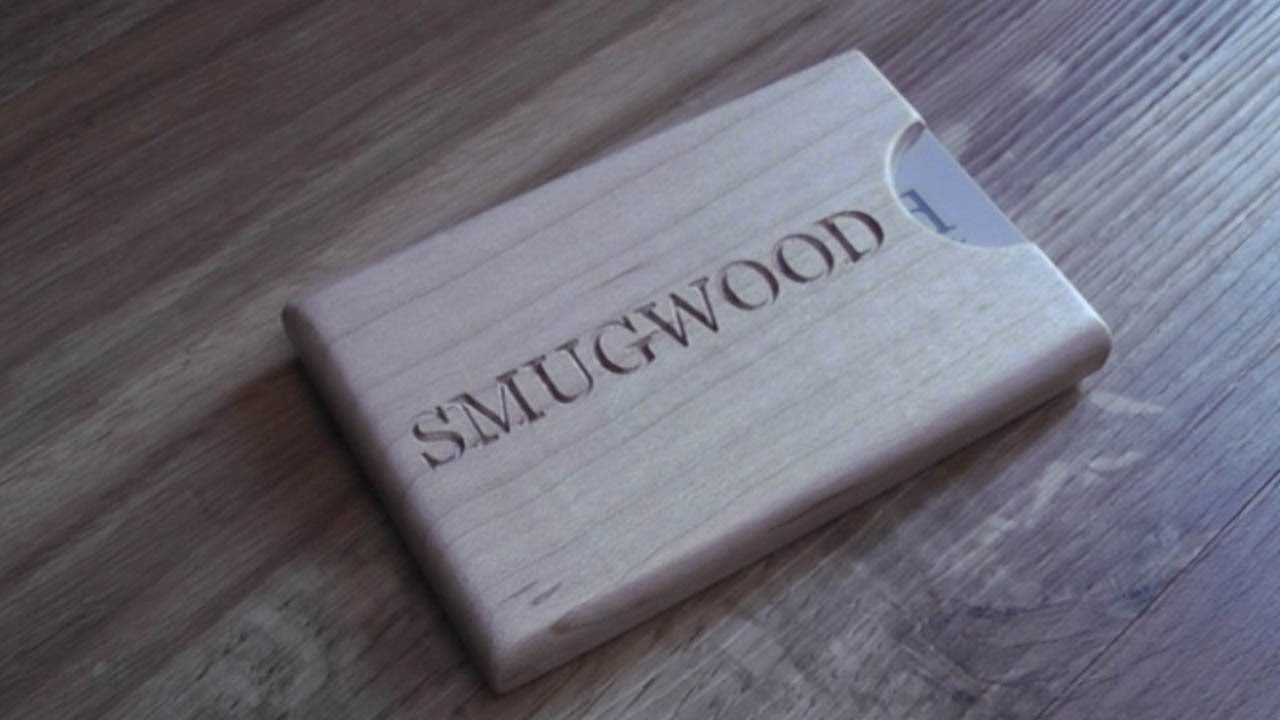 Making a business card holder out of wood youtube magicingreecefo Gallery