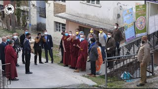 His Holiness the Dalai Lama receives COVID vaccination, urges everyone to get vaccinated too