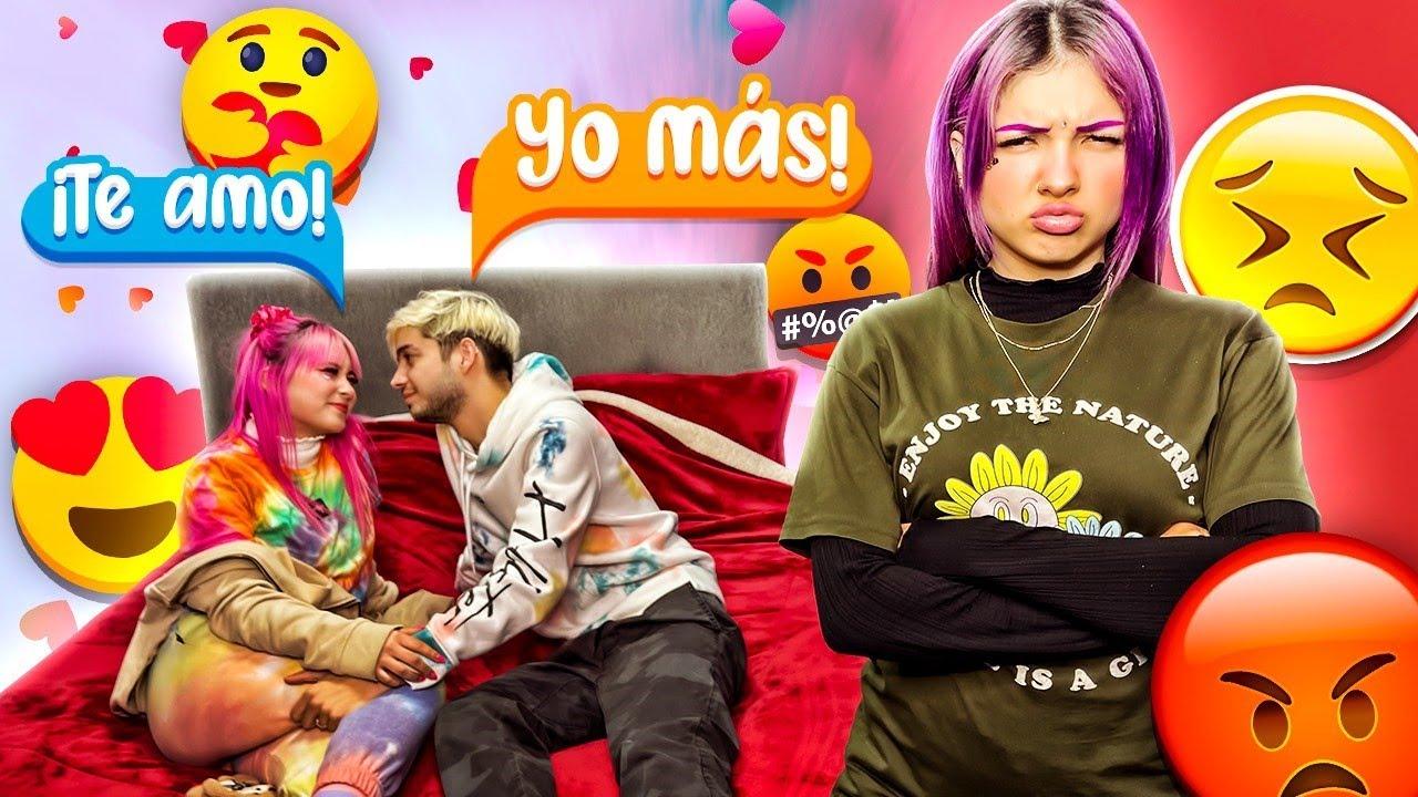 ¡NANDO ENGAÑA A LILA CON POLI! *se pelean* - Coloridas ft. Yolo Aventuras