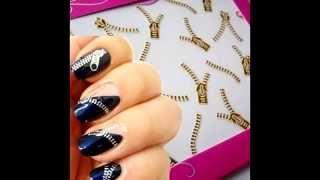 Наклейки для ногтей, слайдер дизайн