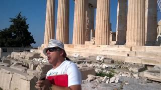 Афины Акрополь 3 июля 2015(Экскурсовод Petros Mavopoulos., 2015-07-19T12:29:59.000Z)