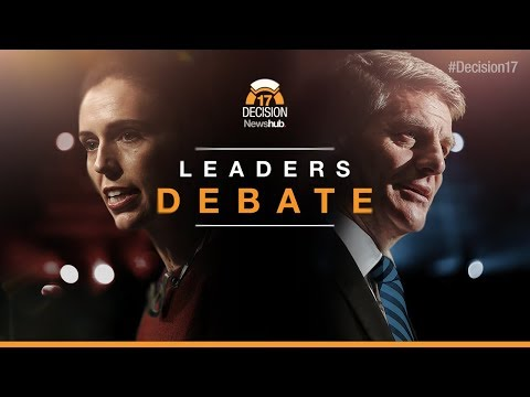 New Zealand 2017 election debate - LIVE | Newshub