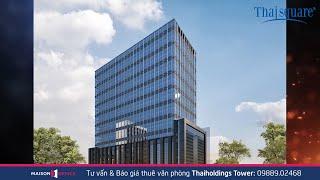 Thaiholdings Tower   Cho Thuê Văn Phòng Tại Tòa Nhà Thaiholdings - Maison Office