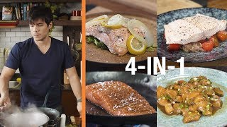 Four Easy Salmon Recipes (4 Ingredients Only)