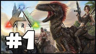 ARK: Survival Evolved - Part 1: Dodo Hunting!