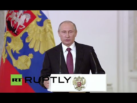 LIVE: Putin honours public figures with State Prize of the Russian Federation