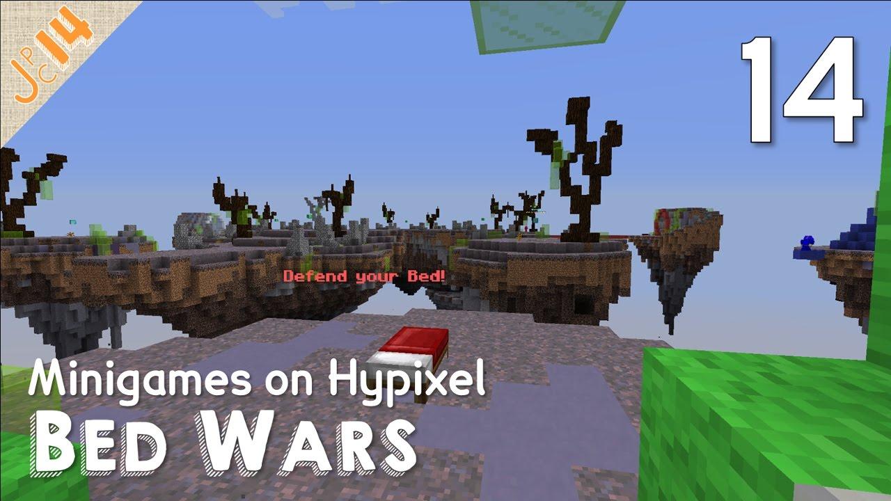 Minigames 14 Bed Wars Hypixel Minecraft Youtube