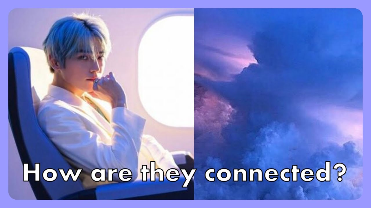 The connection between Taeyong's Dark Clouds and Long Flight