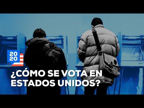 Así es el proceso electoral de EUA | ¿Cómo se vota en EUA?