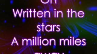 Tinie Tempah - Written In The Stars (Lyrics on screen)