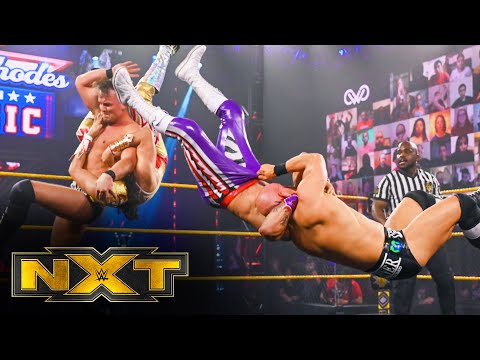 Lucha House Party vs. Imperium – Dusty Rhodes Tag Team Classic First Round: WWE NXT, Jan. 20, 2021