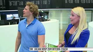 Bitcoin-Crash - Das Ende des Krypto-Booms? - Dr. Julian Hosp zum Kursverfall