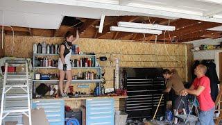 Garage Ceiling Overhaul