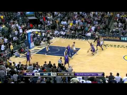 (02/27/2011) Suns vs Pacers NBA Full Game Recap/Highlights - 2010 - 2011 season