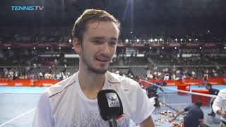 Medvedev: 'i was playing amazing'