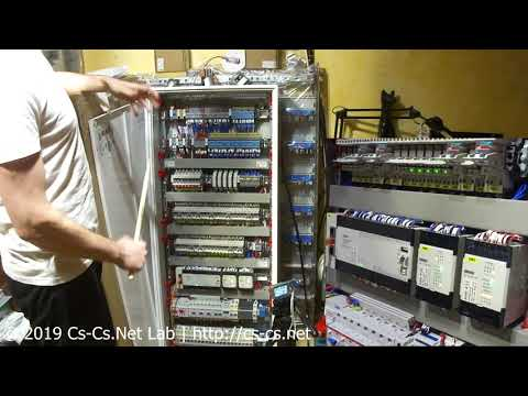 Cs-Cs: Управление светом сценами как в KNX на ПЛК ОВЕН (щит в ЖК Монэ)