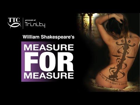 Shakespeare's Measure For Measure | Trinity Theatre, Tunbridge Wells 12th-16th July 2016
