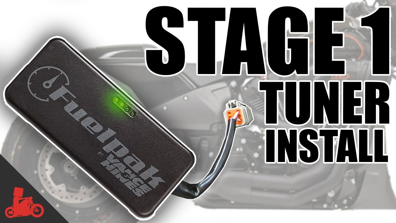 How To: Vance & Hines FP3 Stage 1 Install (Harley Softail FXDR)