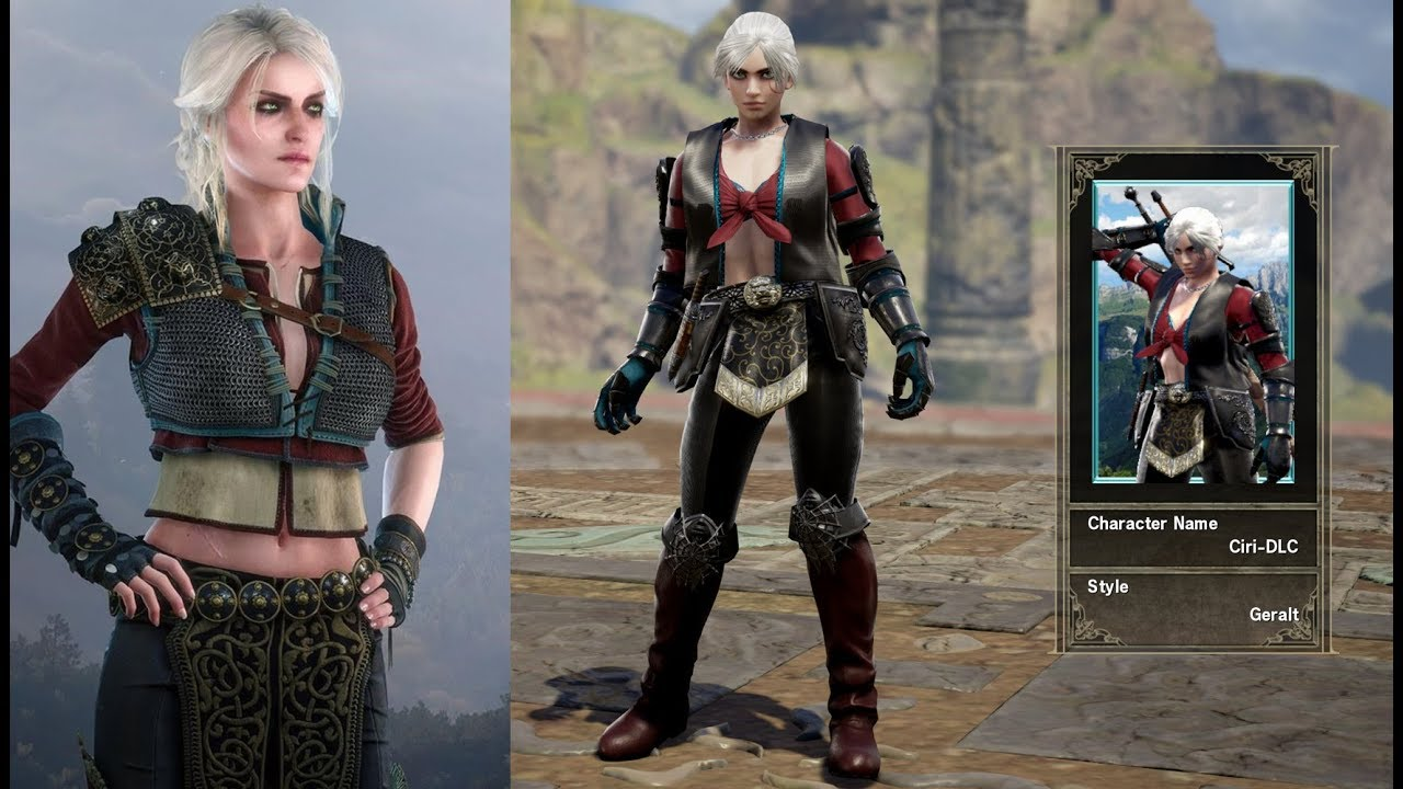 Witcher 3 Ciri Alternative DLC Outfit (Custom Character)
