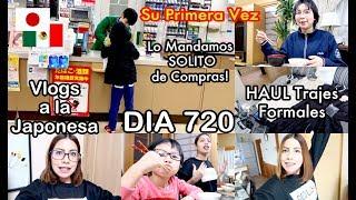 Lo Mandamos a COMPRAR SOLO + Les Muestro los TRAJES FORMALES / JAPON - Ruthi San ♡ 07-03-19