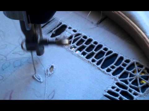 Πώς κεντάμε κοφτό στη μηχανή.