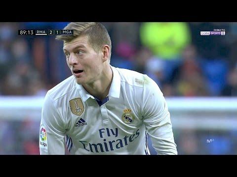 Toni Kroos vs Malaga (H) 1080p HD 21/01/17 by RealMadrid.Universe