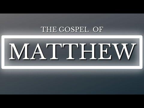 Matthew 1 (Part 1) :1-17 The Genealogy of Jesus Christ