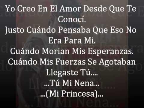 Princesa - Ken-Y (Letra) Reggaeton Romantico �♫