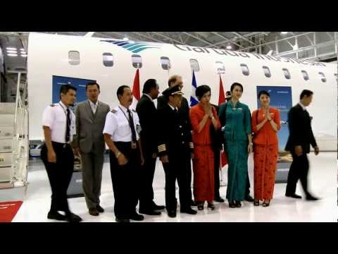 Garuda Takes Delivery of 1st CRJ1000 NextGen Jet