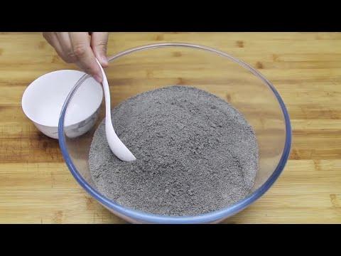 黑芝麻糊做法居然這么簡單,做一次吃1個月,濃香順滑,補鈣補腦 - YouTube