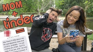 MOM CREATES MY TINDER (and this is what happened)