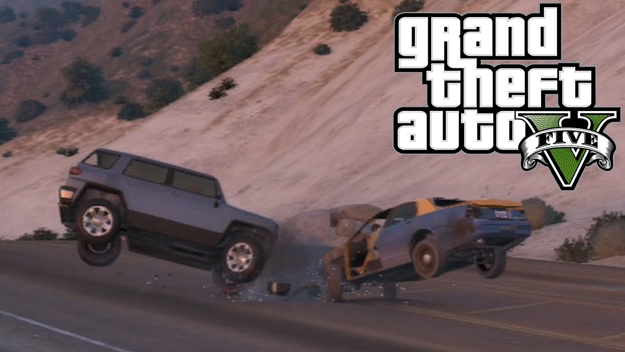 Gta Car Crashes