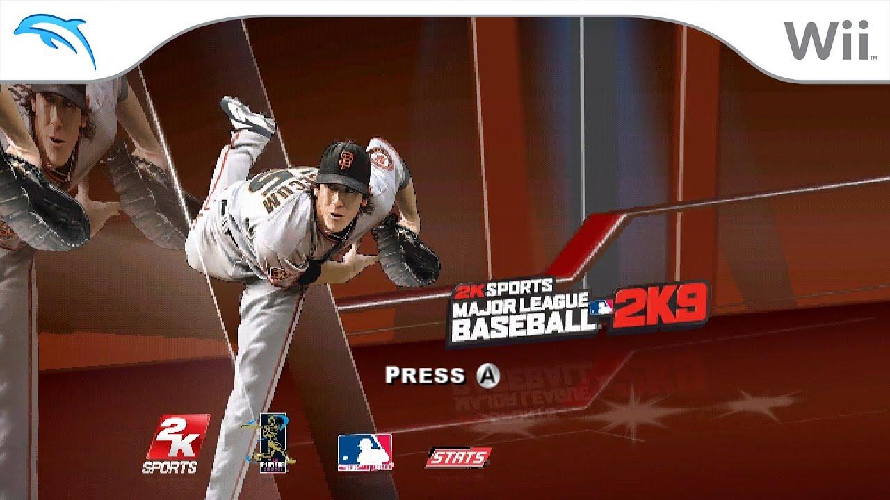 Major League Baseball 2K9 | Dolphin Emulator 5.0-12389 [1080p HD] | Nintendo Wii