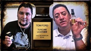 Tom Ford Tuscan Leather reseña con David A. Quiroa