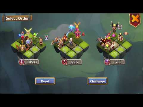 Creation-01|best Configuration (flame Guard) And Getting Iron Goalie Skin|Castle Clash