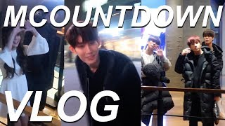 MEETING A TON OF KPOP IDOLS | MCOUNTDOWN VLOG