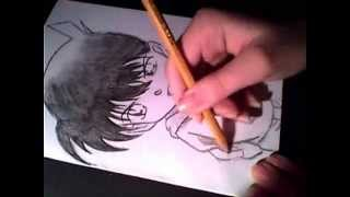 Speed Drawing Detective Conan