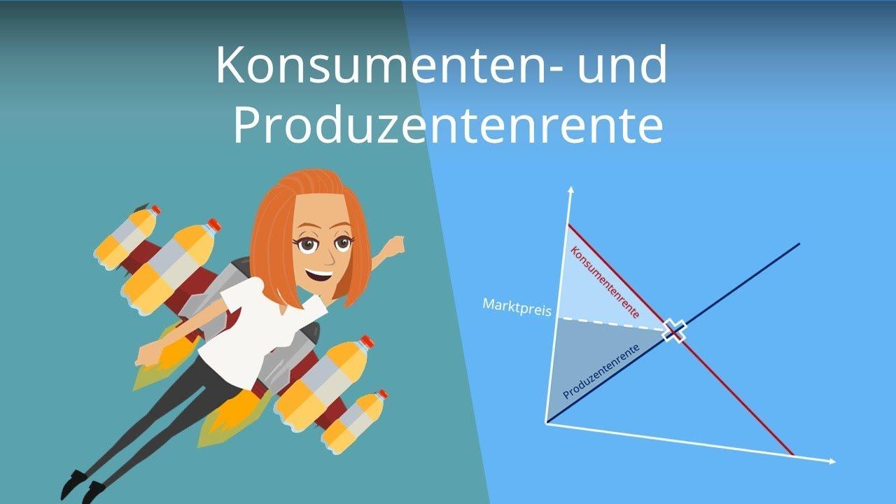 Formel Produzentenrente