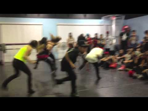 Sean Lew - My Homies Still by Lil Wayne - At Willdabeast's class