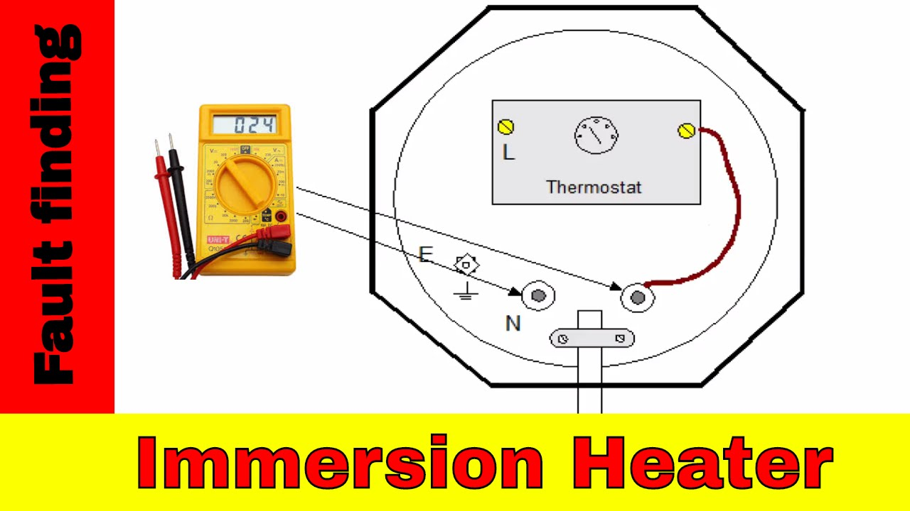 cat5 wiring diagram australia major arteries and veins how to fix broken immersion heater electrical fault finding youtube
