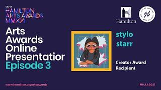 2021 City of Hamilton Arts Awards Online Presentation - EPISODE 3