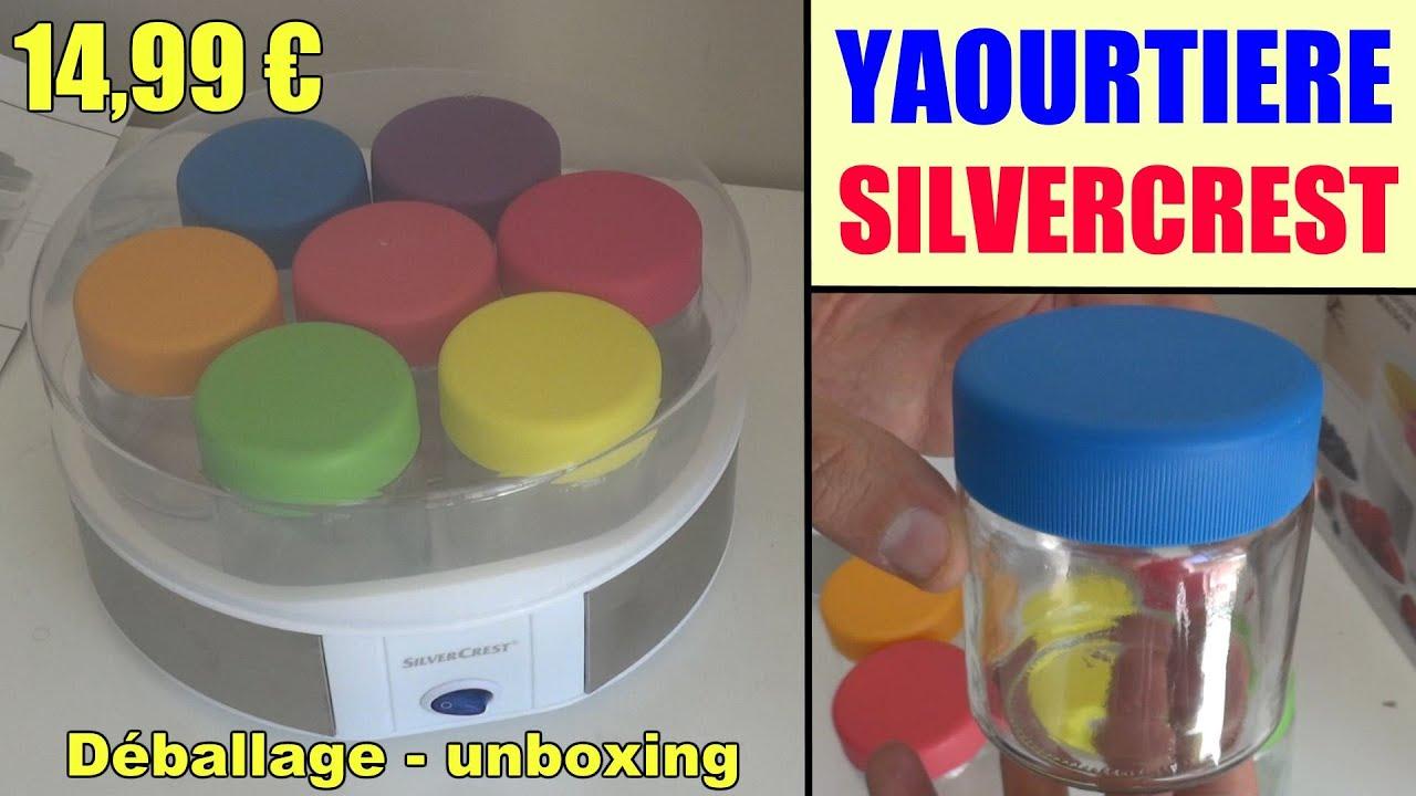 Preferenza yaourtière lidl silvercrest sjb 15 présentation yogurt maker  LH46