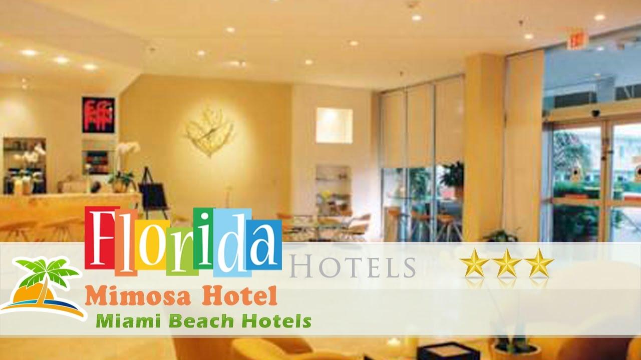 Mimosa Hotel Miami Beach Hotels Florida