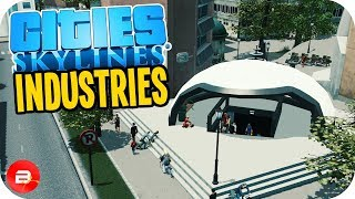 Cities: Skylines Industries - Underground People Movers! #27 (Industries DLC)
