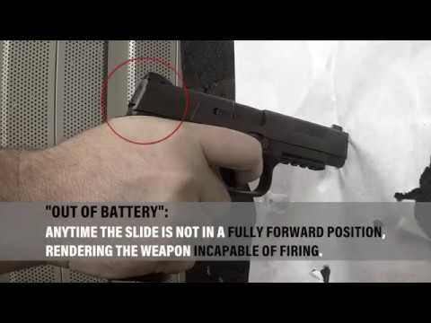 AZDPS Safety Bulletin FNS Issued Service Weapon