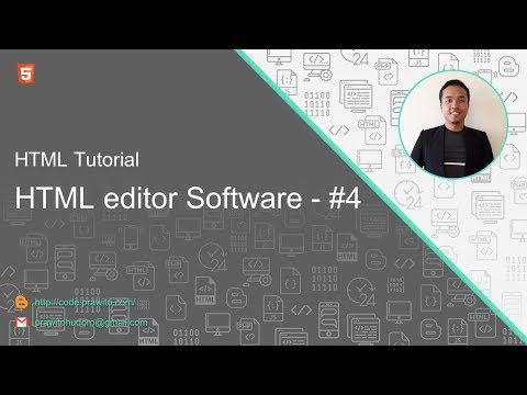 HTML Editor Software #4 HTML Tutorial [Indonesia]
