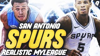 POSSIBLE CHAMPS?! | NBA 2K20 SAN ANTONIO SPURS MYLEAGUE