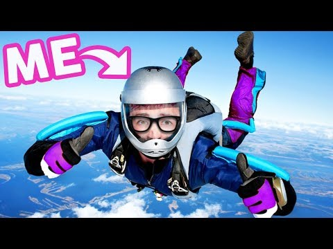 I went Skydiving!