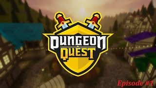 Our First Video While playing DQ | Dungeon Quest Roblox